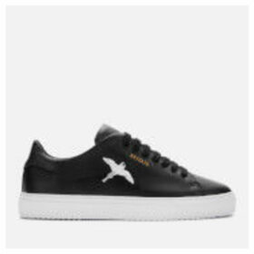 Axel Arigato Women's Clean 90 Taped Bird Leather Cupsole Trainers - Black/Black