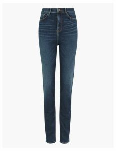 M&S Collection Sophia Super Soft High Waist Straight Leg Jeans