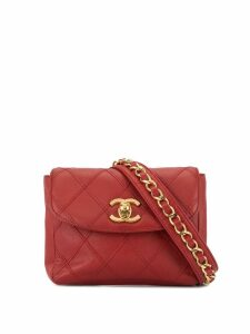 Chanel Pre-Owned Cosmos Line chain waist bag - Red