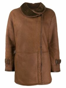A.N.G.E.L.O. Vintage Cult 1970's double-breasted coat - Brown