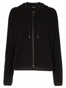 Sweaty Betty mesh hoodie - Black