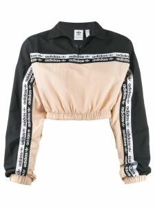 adidas Originals cropped sweatshirt - Black
