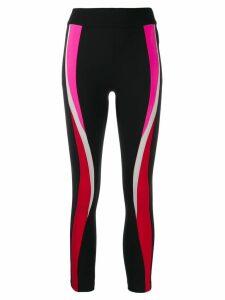 No Ka' Oi cropped colour-block leggings - Black