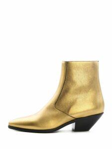Saint Laurent Boots West 45 Gold