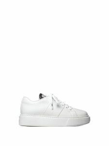Prada Prada Leather Sneakers