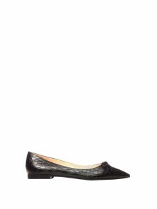 Prada Prada Flat Leather Ballerinas