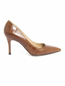 Roberto Festa New Emma Pumps In Brown Leather
