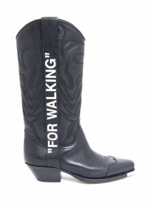 Off-White for Walking Leather Cowboy Boots
