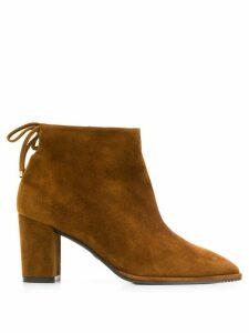 Stuart Weitzman Gardiner ankle boots - Brown