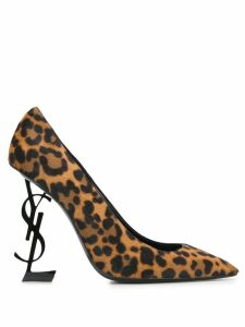 Saint Laurent Opyum 110 pumps - Brown