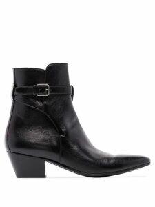 Saint Laurent West Jodhpur ankle boots - Black