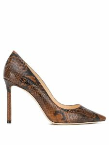 Jimmy Choo Romy 100 pumps - Brown