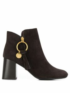 See By Chloé high heel ankle boots - Brown