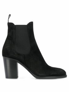 Strategia Birk ankle boots - Black