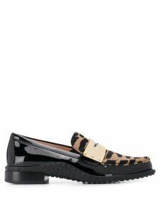 Tod's slip-on loafers - Black