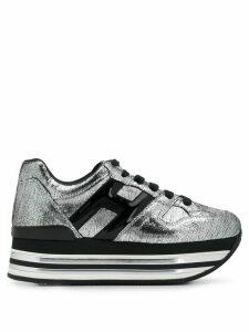 Hogan platform sneakers - Grey
