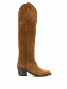 Via Roma 15 Martora boots - Brown