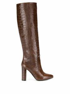 Via Roma 15 knee-length boots - Brown