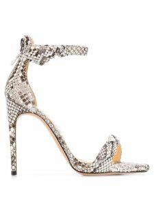 Alexandre Birman Clarita Exotic sandals - NEUTRALS