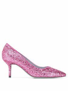 Chiara Ferragni glitter pumps - PINK