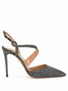 Aquazzura Arden 115 pumps - SILVER