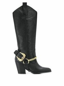 Versace Jeans Couture ranch boots - Black