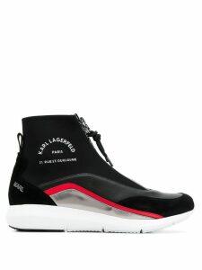 Karl Lagerfeld Vitesse sock-style sneakers - Black