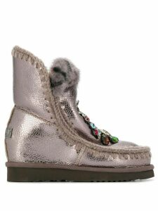 Mou Eskimo Wedge snow boots - Brown