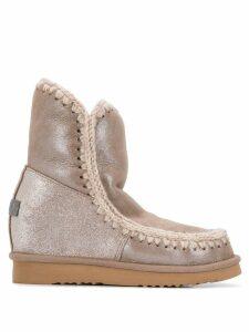 Mou Eskimo Wedge snow boots - Grey