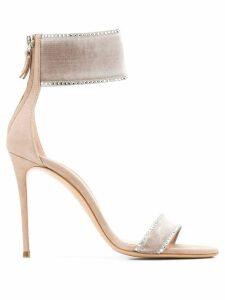 Casadei crystal embellished sandals - PINK