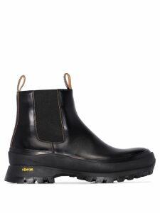 Jil Sander chunky ankle boots - Black