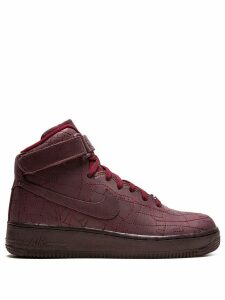 Nike air force 1 hi-top sneakers - Red