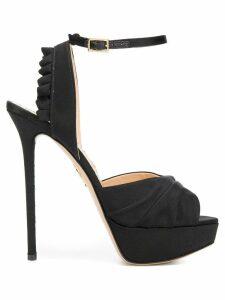 Charlotte Olympia Serena sandals - Black