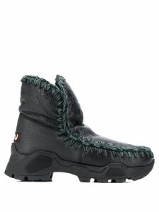 Mou stitched Eskimo boots - Black