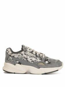 adidas Falcon snakeskin print sneakers - Grey