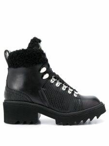 Chloé Bella shearling boots - Black