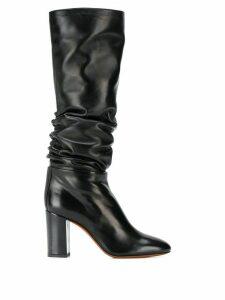 Santoni knee-length boots - Black
