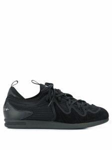Y-3 mesh upper sneakers - Black