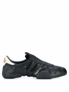 Y-3 perforated detail sneakers - Black