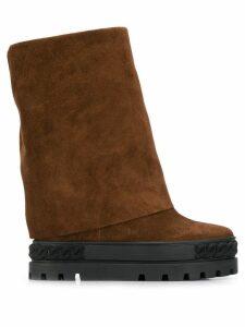 Casadei Renna boots - Brown