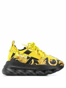Versace Chain Reaction sneakers - Yellow