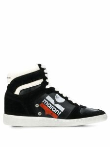 Isabel Marant Bulian high top sneakers - Black
