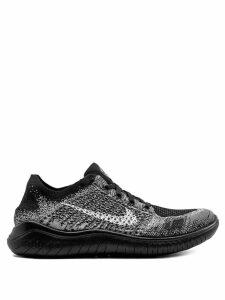 Nike free runner flyknit sneakers - Black