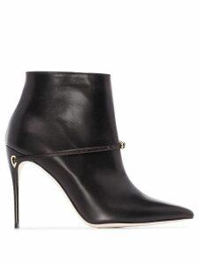Jennifer Chamandi Niccolo two-tone ankle boots - Black