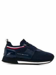 Tommy Hilfiger lace-up sneakers - Blue