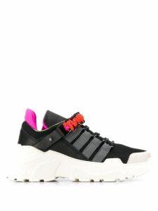 Dorothee Schumacher Neon Touch Trek sneakers - Black