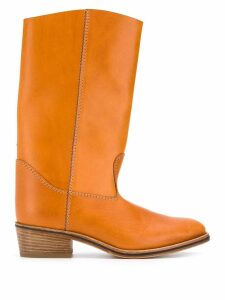 Forte Forte country boots - NEUTRALS