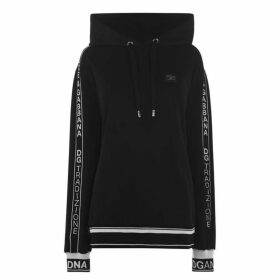 Dolce and Gabbana Logo Tape Hoodie