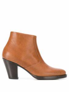 A.F.Vandevorst ankle boots - Brown