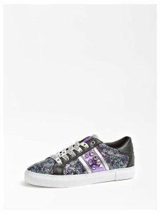 Guess Glitzy Sequin Sneaker Jewel Studs